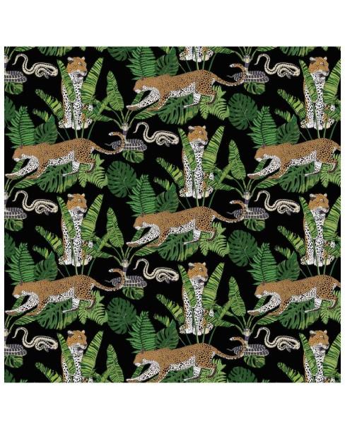 wallpaper---jungle-leaoprd-snake-black2