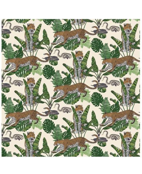 wallpaper---jungle-leaoprd-snake-cream2