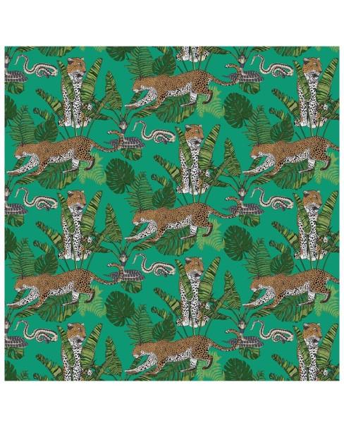 wallpaper---jungle-leaoprd-snake-green1